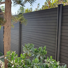 Popular WPC Fence in Israel,wood plastic composite fence
