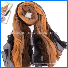 Fashion graceful colorful pashmina silk shawl