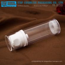 ZB-B120 120ml große Lotion gute Qualität Einzellage hoch klar 120ml airless Pumpflasche