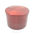 Красочный хромированный травяной измельчитель для дробилки от курильщика (ES-GD-011-2S)