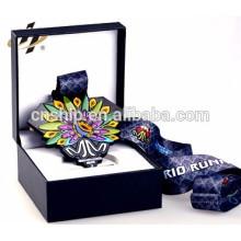 выполненный на заказ металл медаль сувенирная ящики для хранения