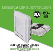 2016 new design DLC listed 45w LED gas station light,45w canopy light outdoor light 45W IP65 waterrpoof light