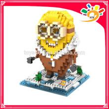 2015 Миньоны блоки набор кирпичных игрушек строительных блоков Лоз игрушки для продажи