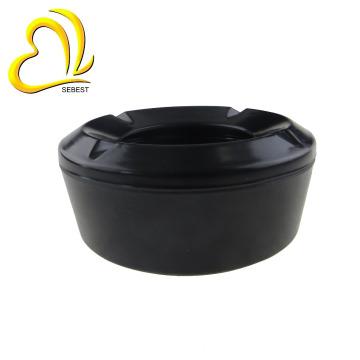 High quality round windproof plastic melamine ashtray