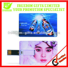 Lecteur flash USB de carte de crédit vente chaude