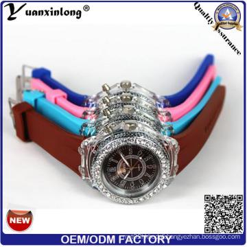 Yxl-694 Silicone Wrist Watch Factory Wholesale Light Silicon Bracelet Wristbands Watch