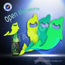dolphin bottle opener keychain