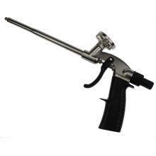 Pistola dispensadora de espuma de poliuretano para uso em construção