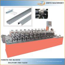 Galvanizado Omega Keel Roll Forming Machine Fabricante