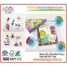 Wooden Educational Toys Teaching Aids Enlighten Brick Toys