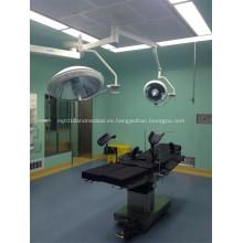Instrumento quirúrgico halógeno luz sin sombras