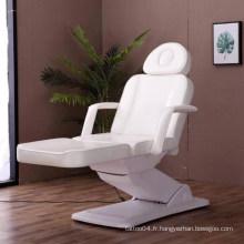 Table faciale électrique de haute qualité massager salon beauté