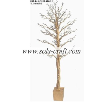 70 cm Christmas Branch Decor Tree wordt opknoping door kralen Drop en Garland