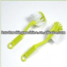 high speed kitchen dish washing brush drilling and tufting machine