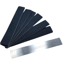 Amazon  nail file replaceable self adhesive metal  stainless steel nail file nail file refillable sandpaper