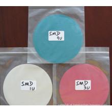 1um 3um 9um película adesiva opticamente clara, papéis de polimento / filme pet ótico
