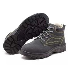Estándar Industrial Trabajando Profesional PU Zapatos Calzado De Seguridad