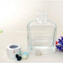 100ml 200ml Empty Cube Square Glass Diffuser Bottle