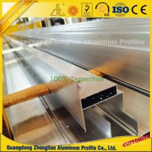Perfis de alumínio de extrusão de limpeza para construção de hospitais