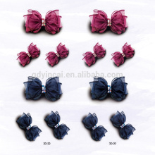 3D Cute bow Simulated Hairpin Not-toxic Body sticker tattoo for Girls