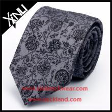Corbata floral tejida Jacquard de seda del nudo perfecto hecho a mano del 100% Aceptamos PayPal