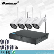 CCTV 4CH 2.0MP Keamanan Wifi Nirkabel NVR Kit