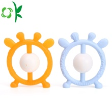 Promotion Antlers Design Round SiliconeTeether pour Bébés
