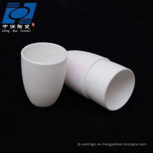 Piezas blancas de cerámica de resistencia al desgaste