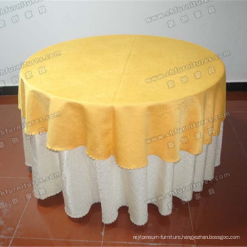 Banquet Dining Table with Elegant Cover (YC-T01-04)