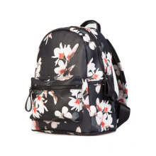 Korean Style PU Floral Backpacks Wholesale for Teenage Girls