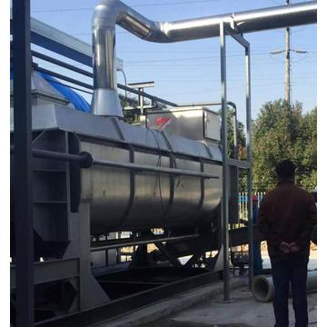 Factory Sale Chicken Manure Paddle Dryer High Frequency Continuous Dry