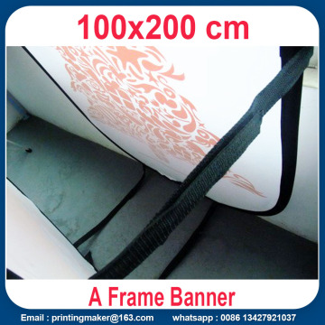 Custom Print Horizontal Pop Up A Frame Banner