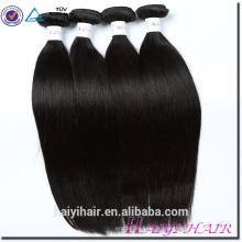 Haiyi Cheveux Dropsgip En Gros Grade 10A 20 Pouces Droite Vierge Malaisienne Cheveux Humains Qingdao