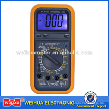 Multímetro digital VC9807 con medidor de prueba de frecuencia con DMM anti-grabación