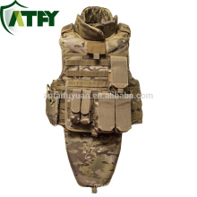 Kevlar / PE Police Security Tactical military vest full body armor for sale