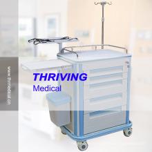 Chariot à chariot en ABS multi-fonctions hospitalier