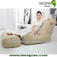 unfilled sectional bean bag lounger sofa