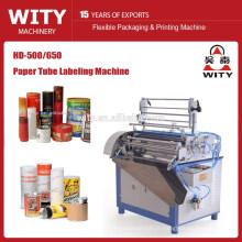 Máquina de etiquetagem de tubos de papel