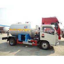 Dongfeng mini 4x2 5cbm LPG tank truck