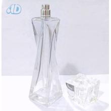 Ad-P334 Frasco De Perfume De Vidro Curvo Transparente