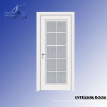 Porta interior plana de madeira maciça Yf-S18