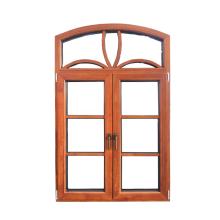 Окна из древесины дуба специальной формы с наружным алюминием