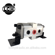 dump truck of hydraulic double cylinder forklift gear pump