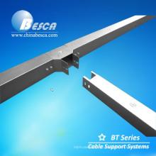 Sistema de fiação de cabo de metal / calha de cabo / canal de cabo