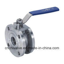 Wafer Flange Italy Ball Valve with Stainless Steel