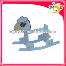 wooden rocking horse rocking sheep for kids wholesale