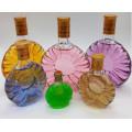 Xo botellas de vidrio de vino con diferentes tamaños con tapa de licor, Whisky
