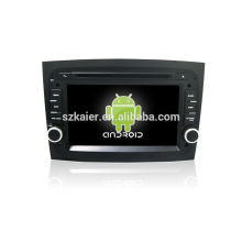 ¡Cuatro nucleos! Android 4.4 / 5.1 DVD del coche para Fiat Doblo 2016 con 7 pulgadas de pantalla capacitiva / GPS / Mirror Link / DVR / TPMS / OBD2 / WIFI / 4G