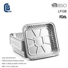 Bbq del papel de aluminio que asa a la parrilla el envase del acondicionamiento de los alimentos para hornear