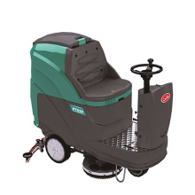 Automatic Ride-on Scrubber Dryer